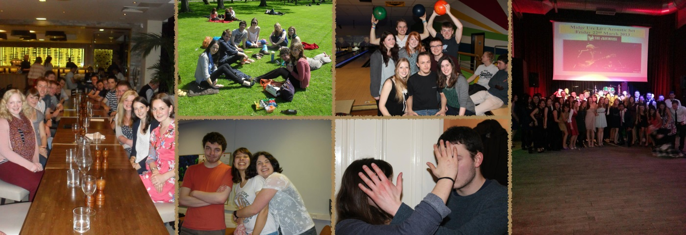 Compilation of photos from social events of 2013