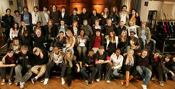 Members of Band Aid 20